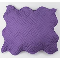 Декоративна възглавница ултрасоник тъмно лила
