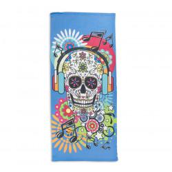 Плажна кърпа Happy Skull