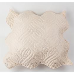 Декоративна възглавница ултрасоник крем