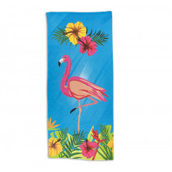 Плажна кърпа Flamingo Flower