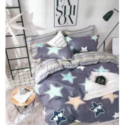 Луксозно спално бельо от памучен сатен Stars 2