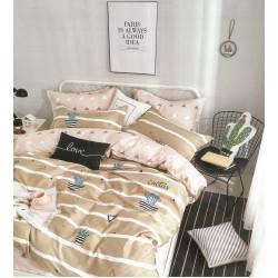 Луксозно спално бельо от памучен сатен Cactus