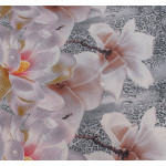 3D шалте Орхидея микрофибър