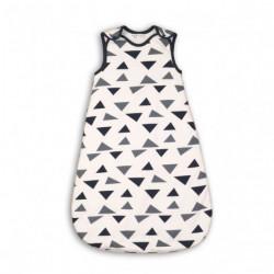 Спален чувал за бебе от органичен памук Triangles