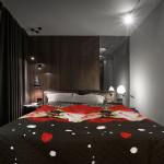 Шалте - кувертюра от микрофибър 3D Roses