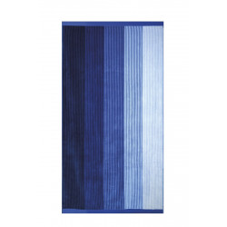 Памучна плажна кърпа Blue Stripes