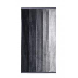 Памучна плажна кърпа Black Stripes