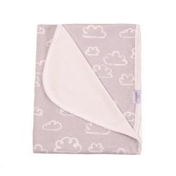 Луксозно бебешко одеяло 100% бамбук Cloudy