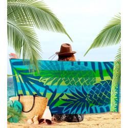 Плажна кърпа 100% памук Ананас