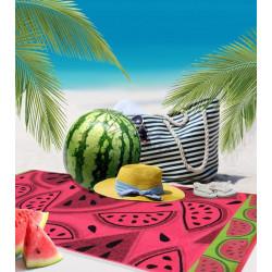 Плажна кърпа 100% памук Диня