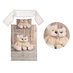 3D Бебешко спално бельо John Bear