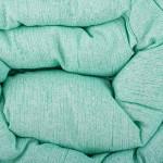 Памучна олекотена завивка Зелено
