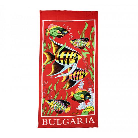 Плажна кърпа Bulgarian Fish