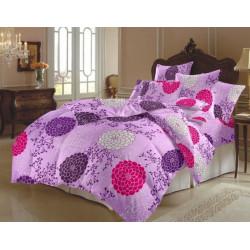 Спално бельо 100% Памук Lilac Flower