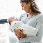 Бебешки спален чувал Сърчица органичен памук