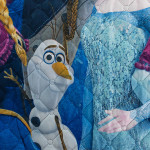 Уникално детско шалте Замръзналото кралство