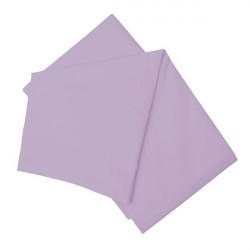 Долен чаршаф в лилаво 100% памук
