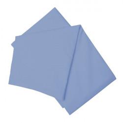 Долен чаршаф в синьо 100% памук