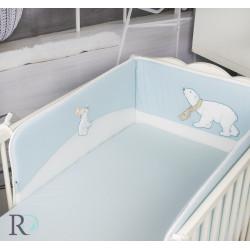 Обиколник за бебешка кошара White bears