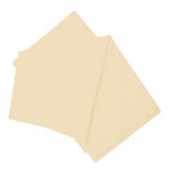 Долен чаршаф светло бежово естествен 100% памук