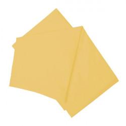Долен чаршаф жълт естествен 100% памук