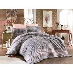 Елегантно спално бельо ранфорс Теос
