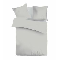 Едноцветно спално бельо ранфорс Grey Interior
