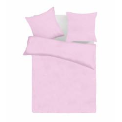 Едноцветно спално бельо ранфорс Light Purple