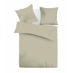 Едноцветно спално бельо ранфорс Cappuccino colours
