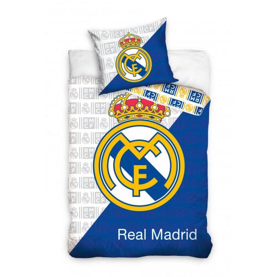 3D Спално бельо от ранфорс Real Madrid