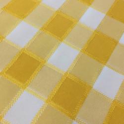 Покривка за маса Каре жълто