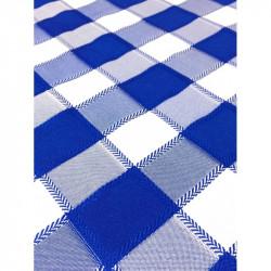 Покривка за маса Каре синьо