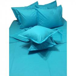 Колоритно спално бельо ранфорс Аква