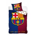 1+1 детско спално бельо от ранфорс Real Madrid и Barcelona