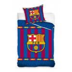 1+1 детско спално бельо от ранфорс Real Madrid и Love Barcelona