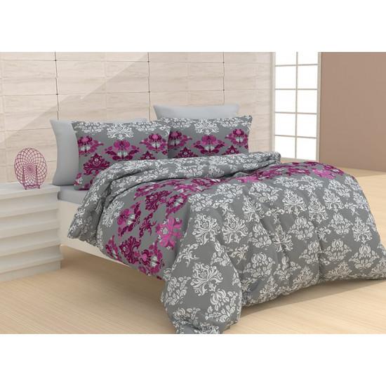 Спално бельо от 100% Памук Паро Лила