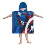 Детско пончо 100% Памук Капитан Америка