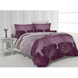 Спално бельо 100% Памук Woods purple