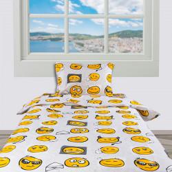 Спално бельо 100% фин памук Emoticons