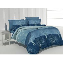 Спално бельо 100% Памук Woods blue