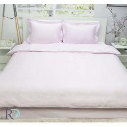 Луксоно спално бельо от памучен сатен Светло Розово