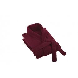 Луксозен халат за баня плюш Червено