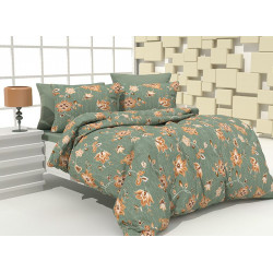 Спално бельо 100% Памук Kia green