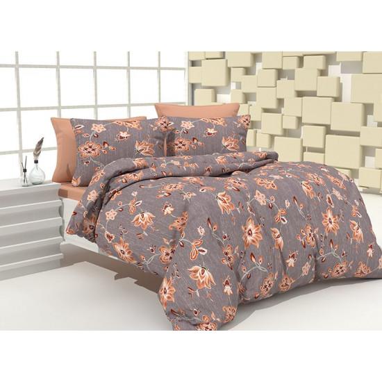 Спално бельо 100% Памук Kia grey