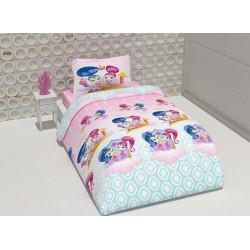 Детско спално бельо 100% памук Искрица и Сияйница
