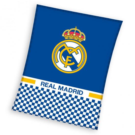 Висококачествено одеяло Real Madrid licensed