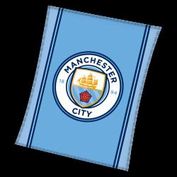 Висококачествено одеяло Manchester City licensed