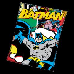 Висококачествено одеяло Batman comics
