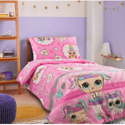 Детско спално бельо 100% памук LoL