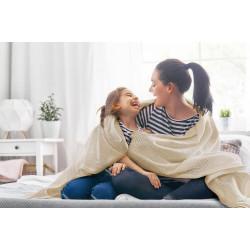 Плетено одеяло 100% Памук в различни цветове